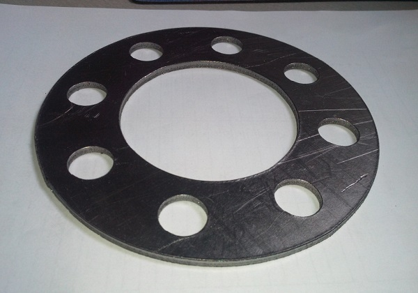 gasket. a gasket can be used for many different purposes, but generally, it serves as flexible seal that fills the space between two components joined under