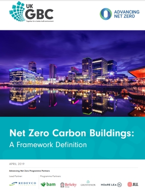 net zero carbon buildings UKGBC