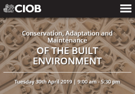 CIOB conservation conference website 2019.png