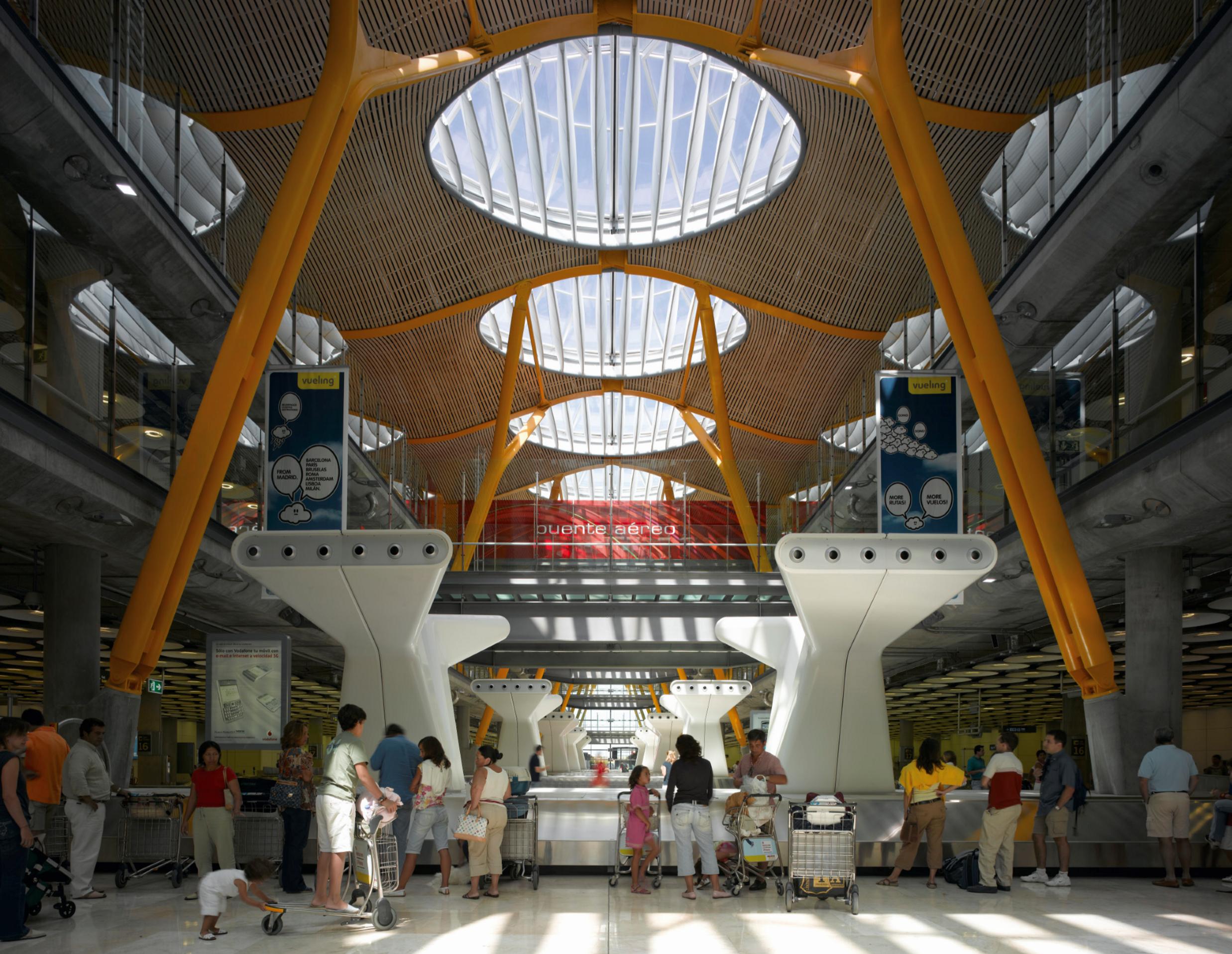 madrid barajas airport   designing buildings wiki