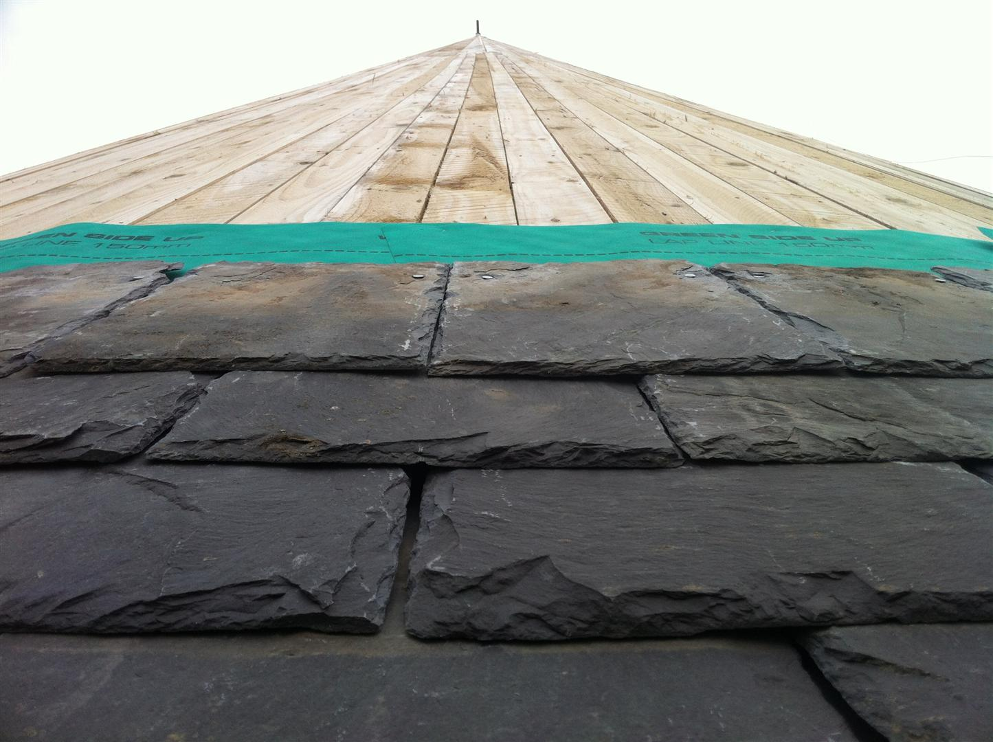 View up roof from eaves.JPG