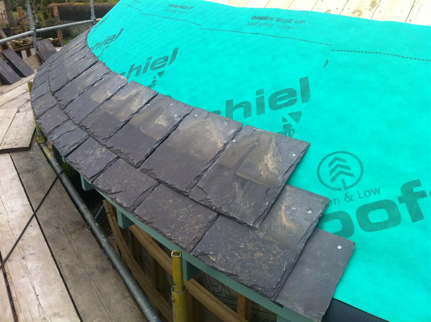 Conical Roof Slating Designing Buildings Wiki