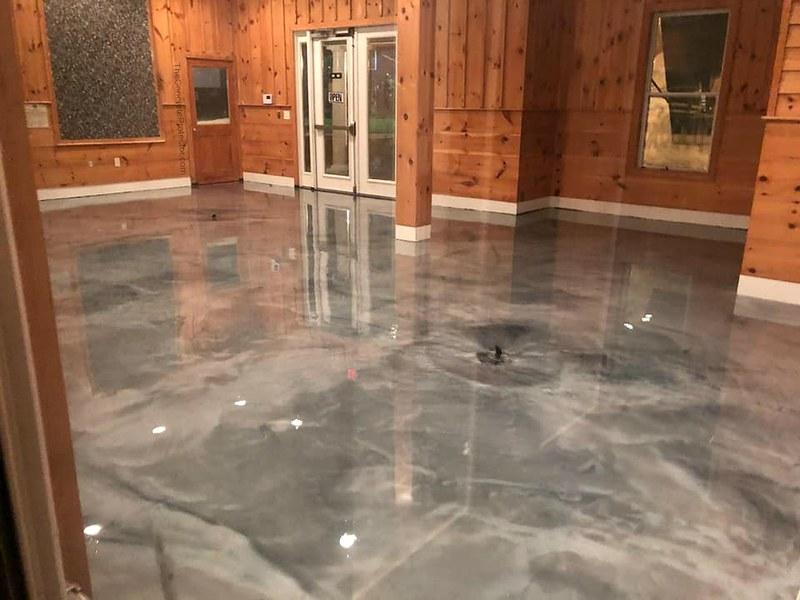 Polymeric flooring - Designing Buildings Wiki