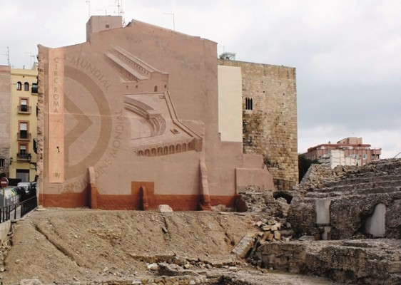 Tarragona Spain a three dimensional projection of the Roman Circus.jpg