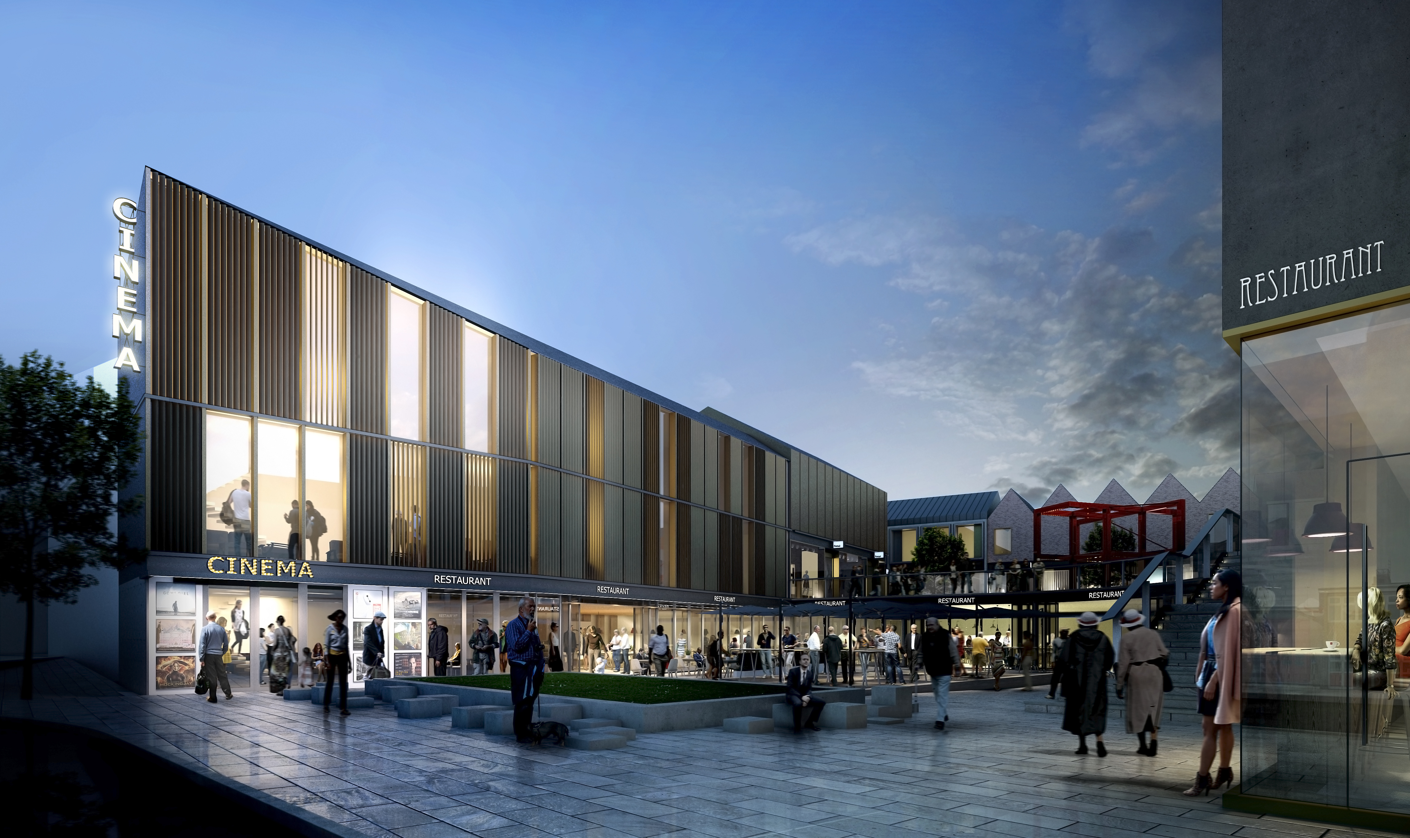 Friarsgate Shopping Centre Lichfield Designing