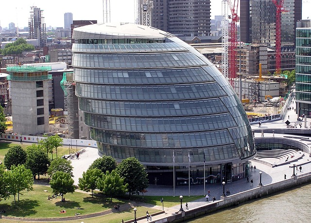 City Hall London Designing Buildings Wiki - London-gherkin-an-unusual-eggshaped-building