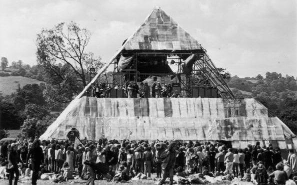Pyramid Stage Glastonbury Festival Designing Buildings Wiki