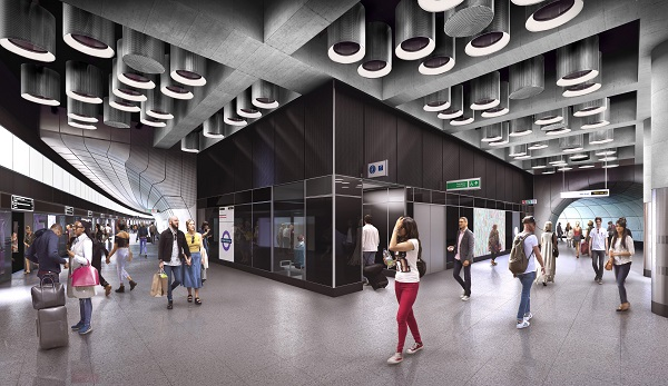 03 Tottenham Court Road station - proposed platform level at Dean Street entrance 236020.jpg