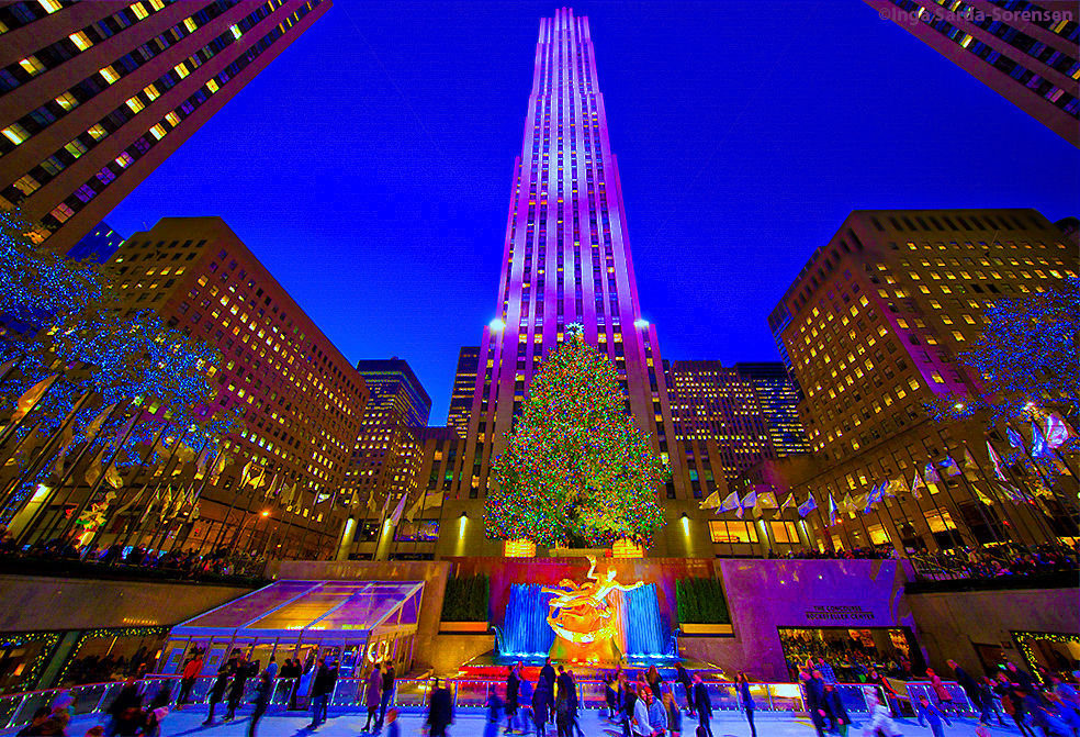 Lighting Of The Rockefeller Christmas Tree 2017