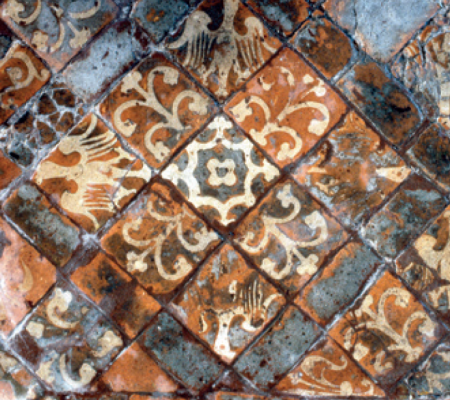 Medieval tiles in Winchester Cathedral 450.png