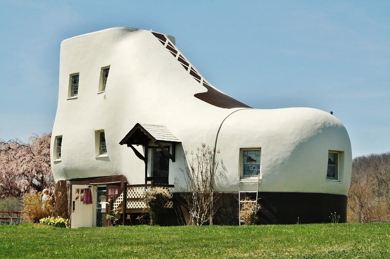 Haines Shoe House - Designing Buildings