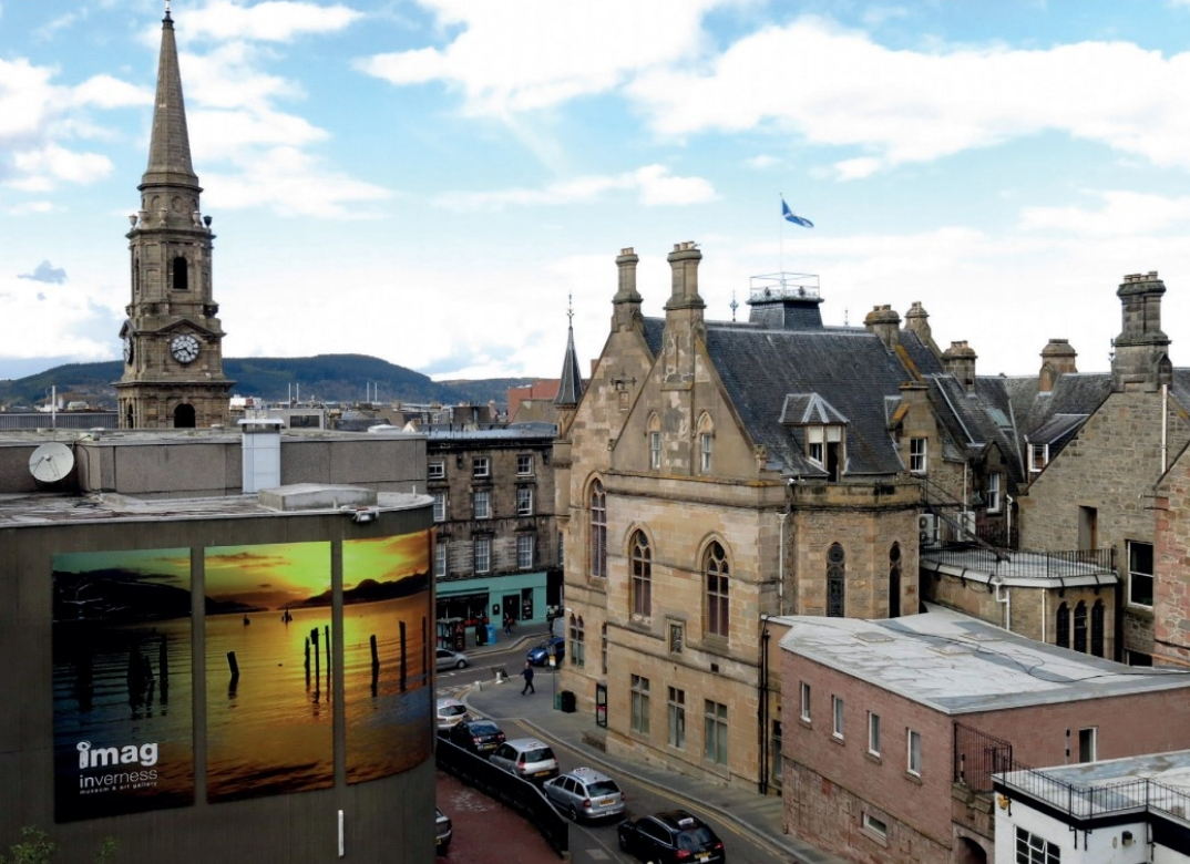 Inverness High Street and Town Hall.jpg