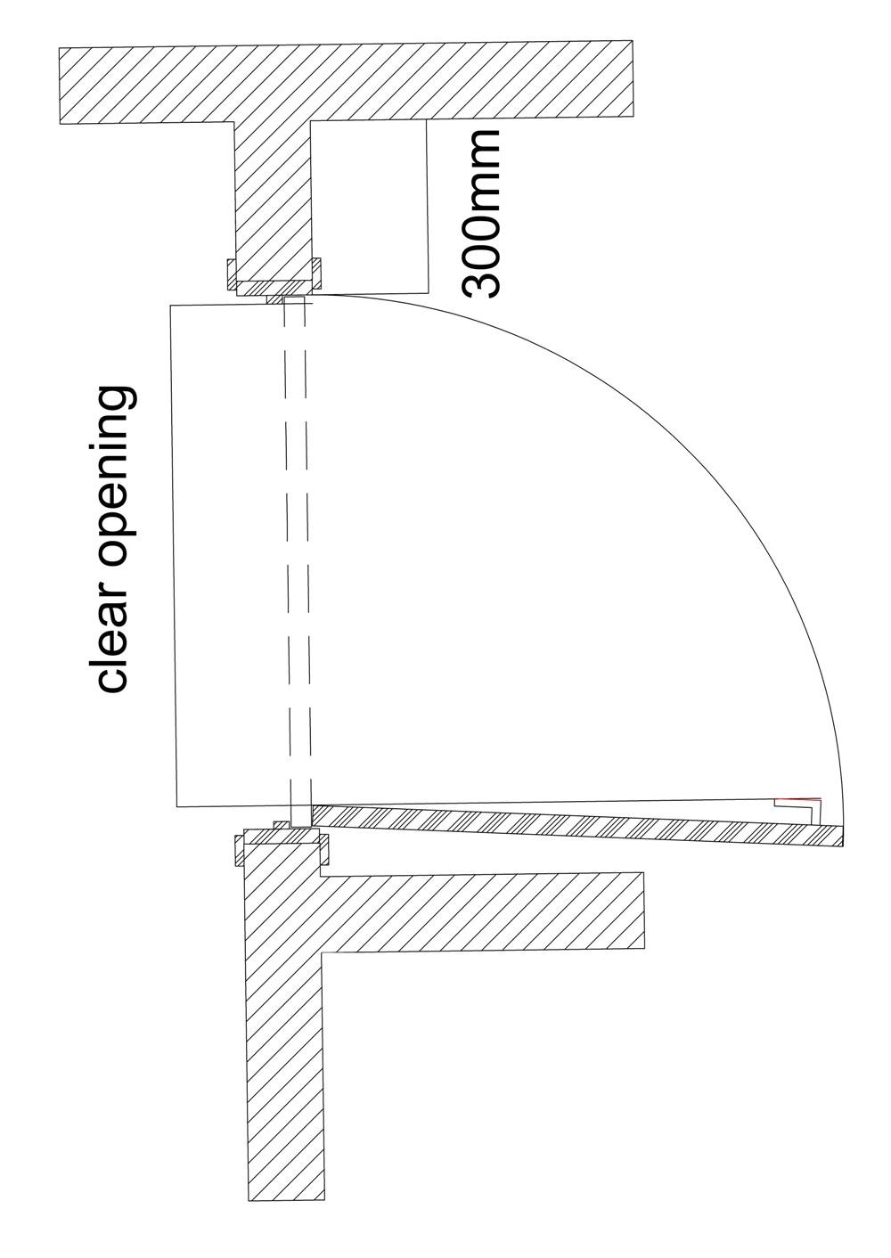 Door Clear Opening Width Designing Buildings Wiki