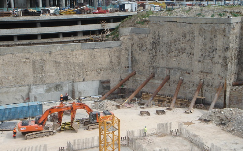 Diaphragm Wall Designing Buildings Wiki