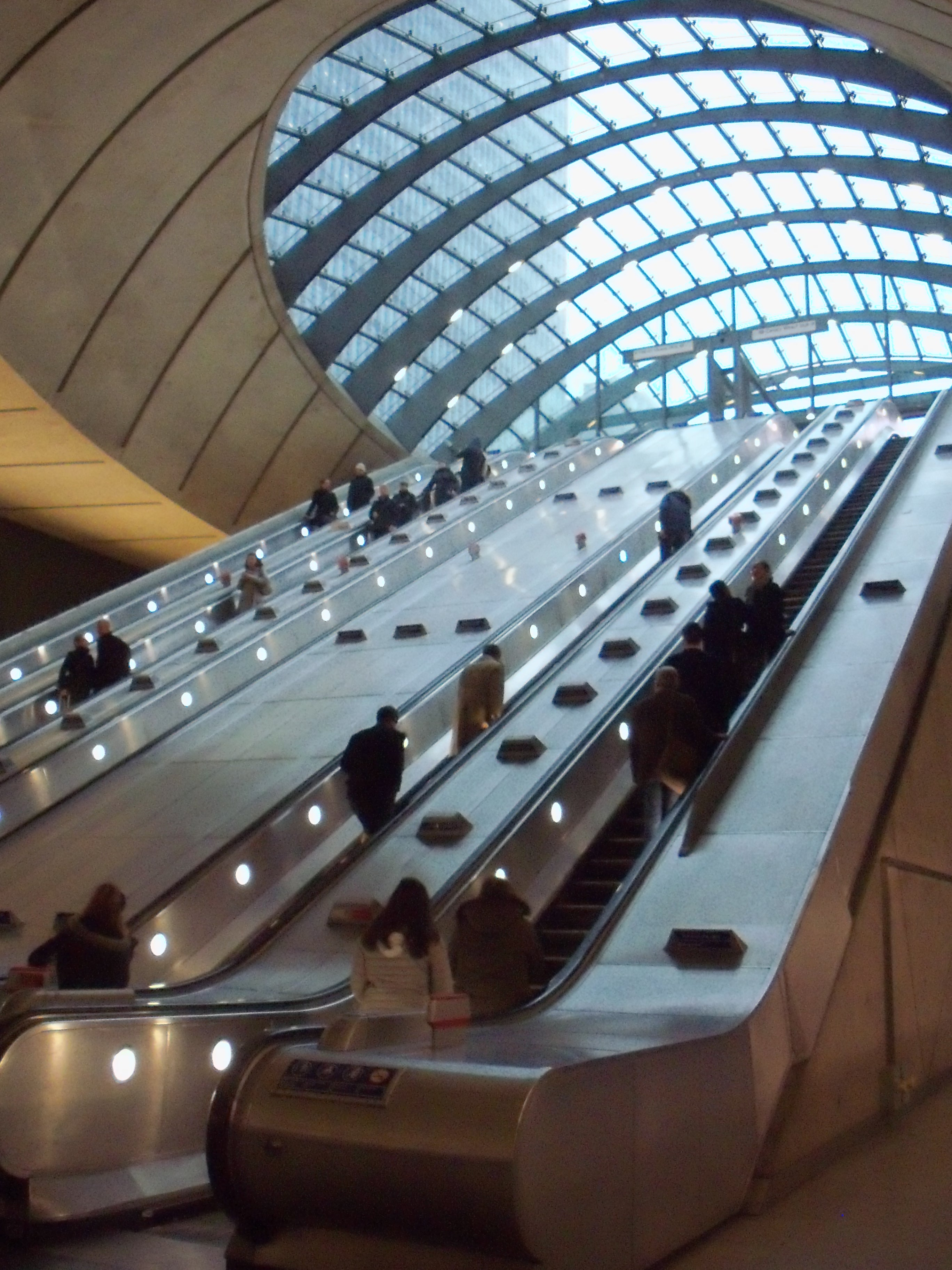 Canary Wharf Escalators.JPG