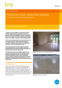 Tiled floors with underfloor heating.png
