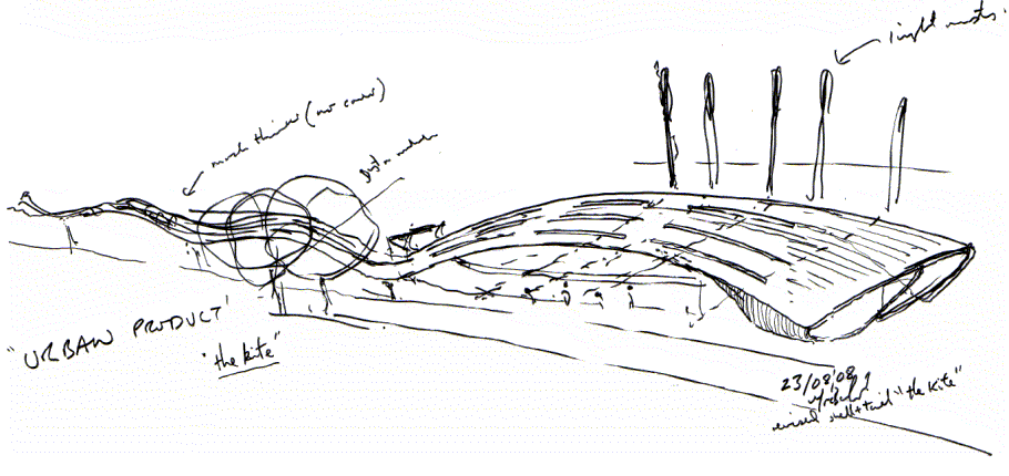 Concept Drawing Slough Bus Station Sketch