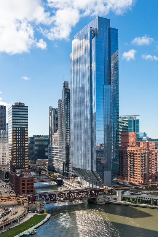 150 North Riverside Designing Buildings Wiki