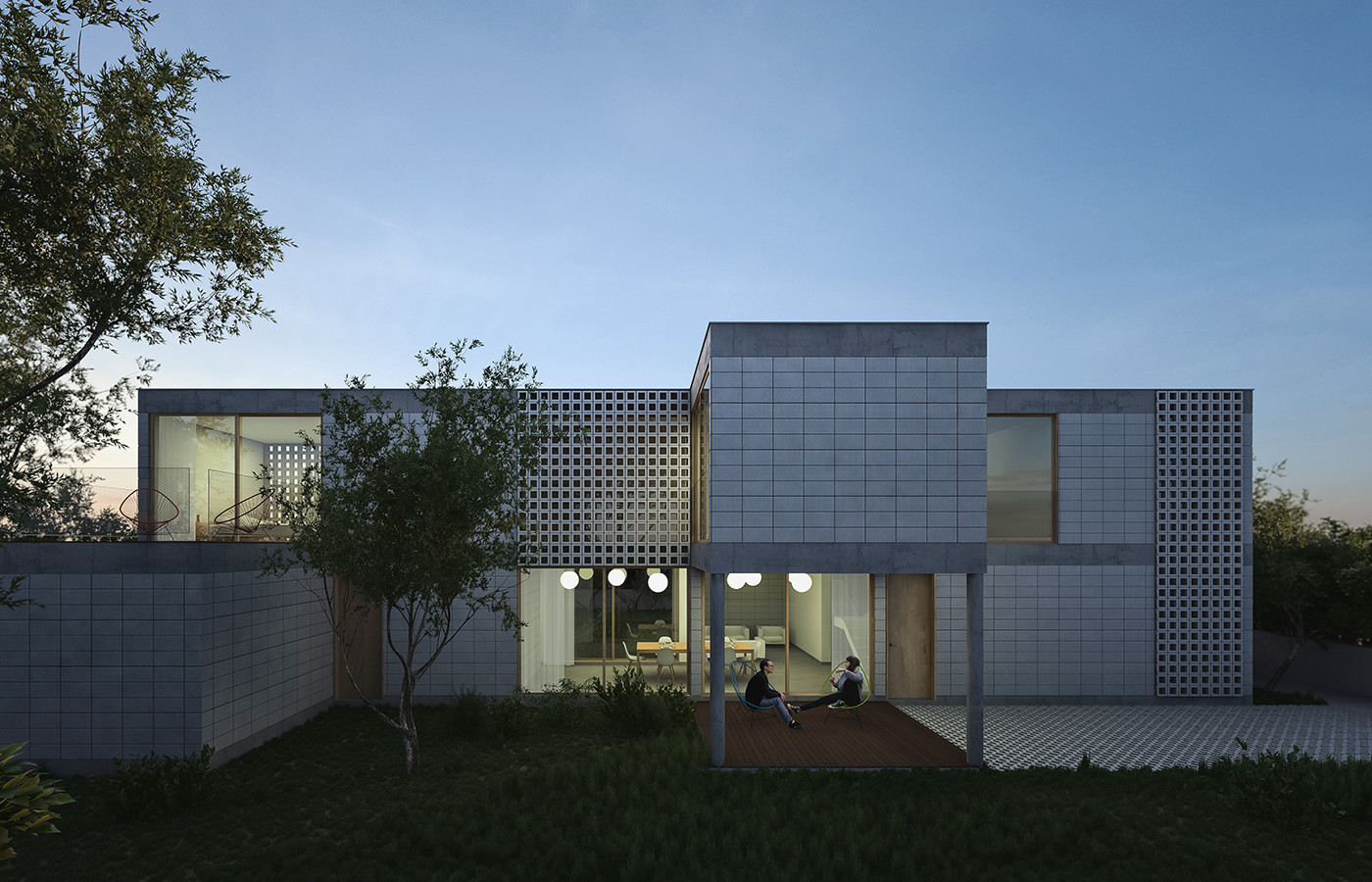 Module House open source architectural plans for modular buildings - designing