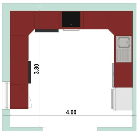 U-shaped kitchen layout How to design a kitchen.jpg