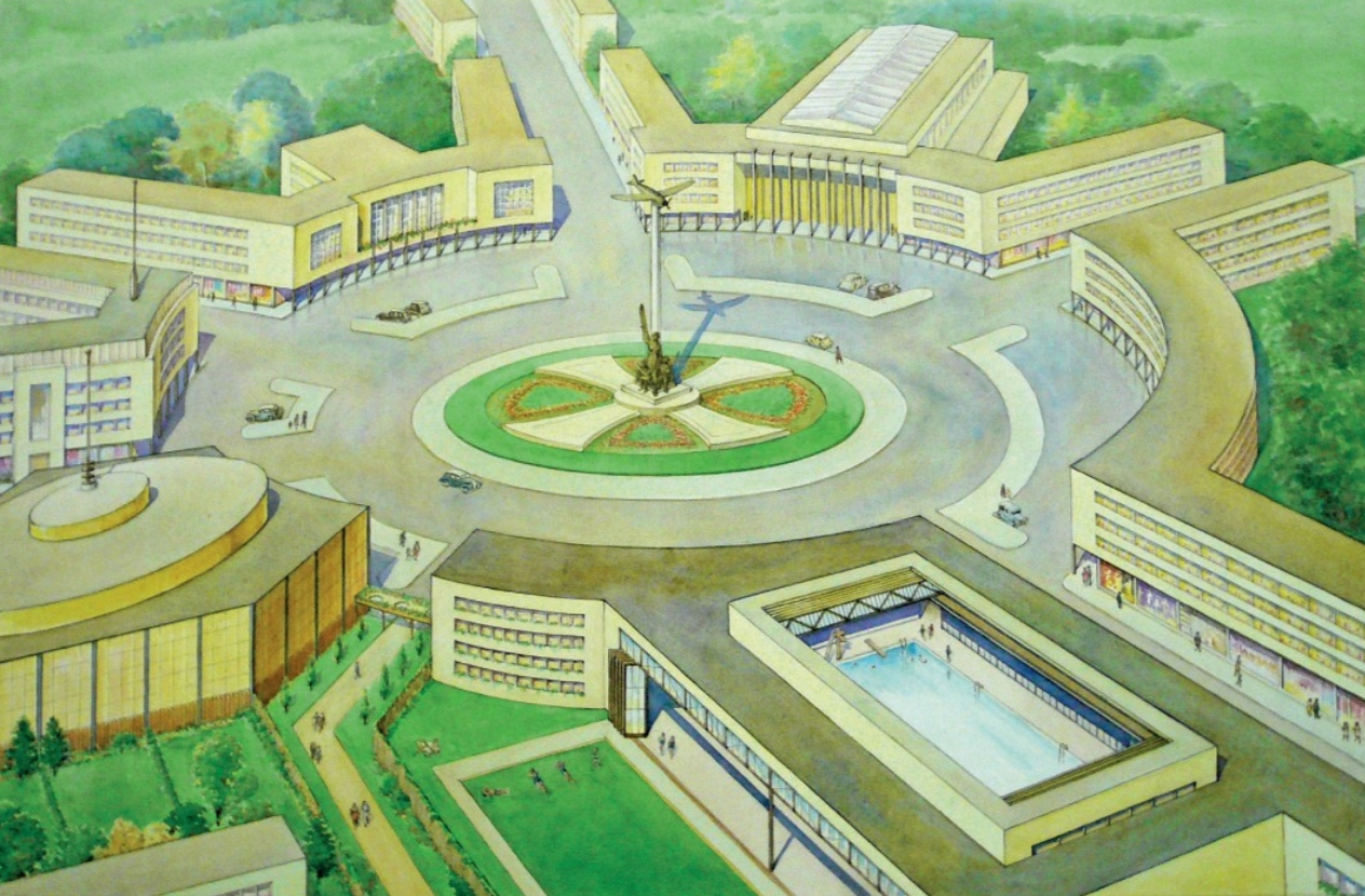 Design for a post war roundabout in Birmingham.jpg