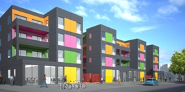 Lewisham Ladywell Temporary Housing Render RSHP 270.jpg