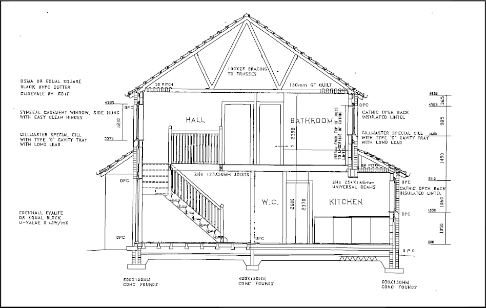 Types of drawings for building design on residential garage doors