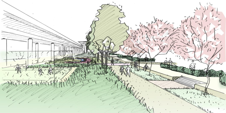 Landscape Illustration Vector Free: Designing Buildings Wiki