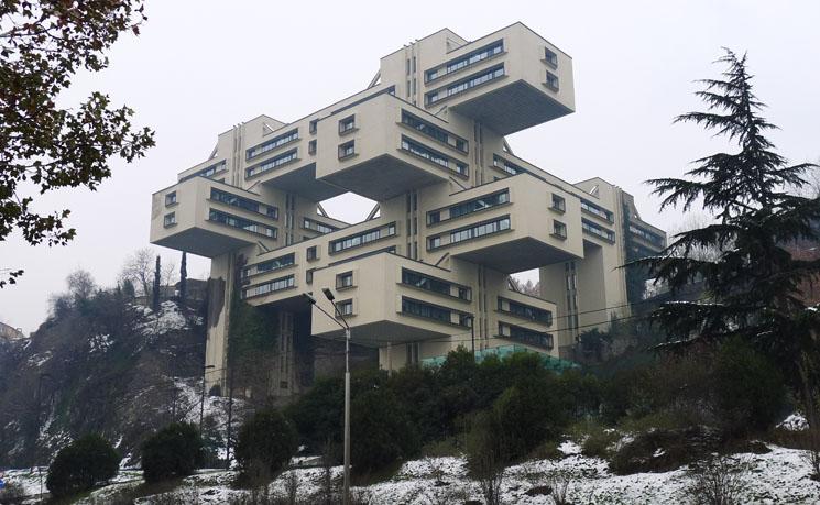 ministry of transportation building  georgia