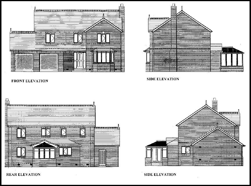 House Plan Elevation Drawings : Elevations designing buildings wiki