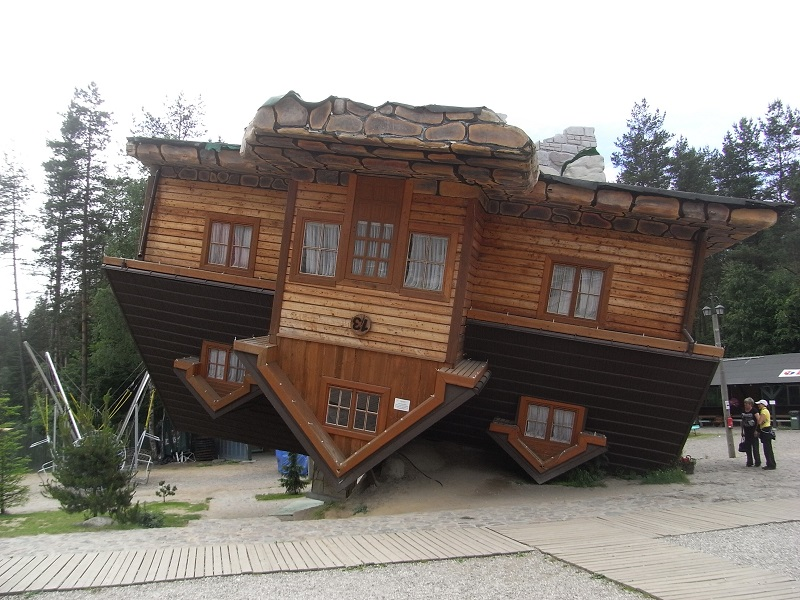 Upside down house poland designing buildings wiki The upside house