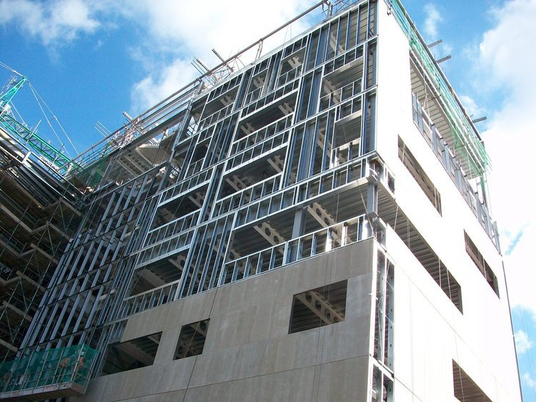 Concrete Building Panels : Infill panel walls designing buildings wiki