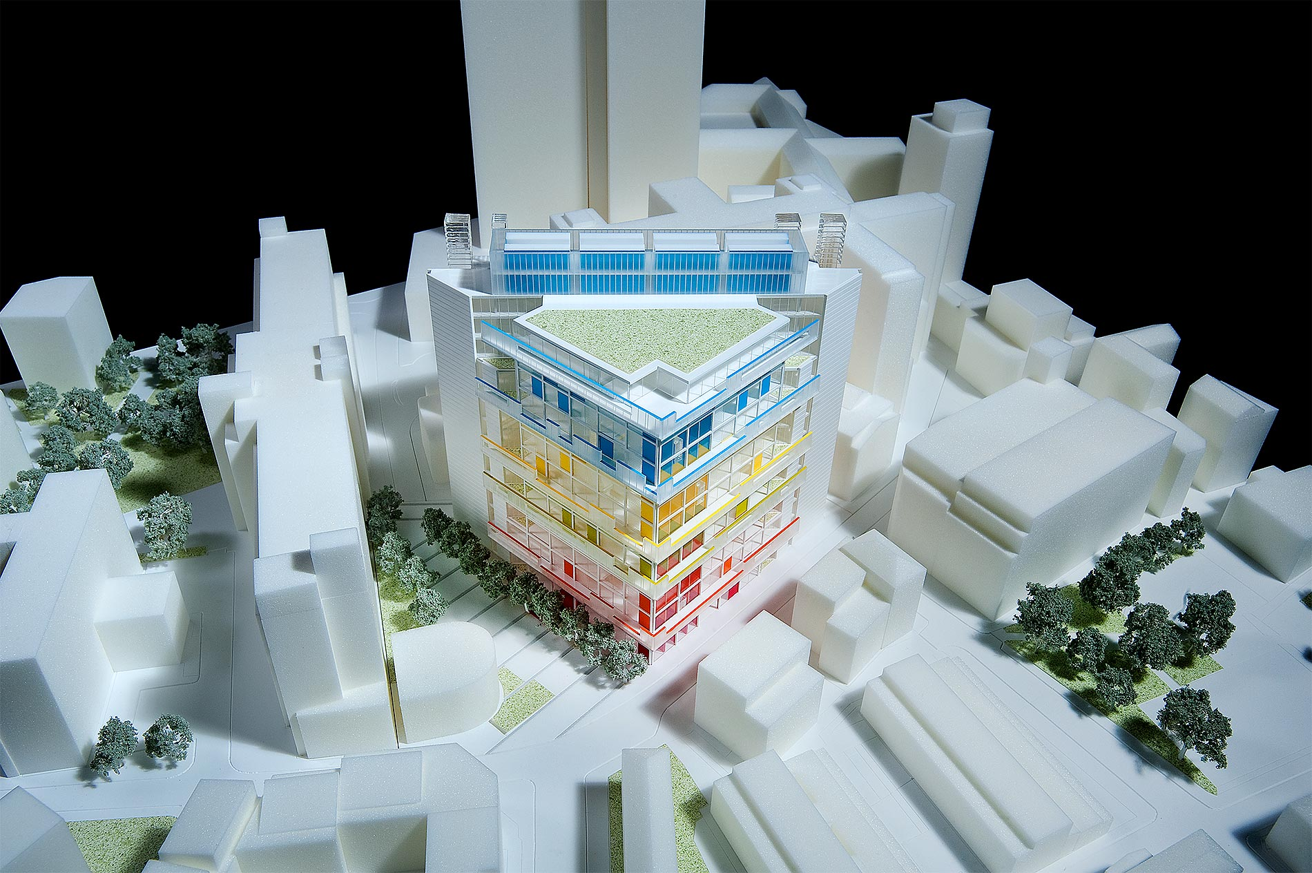Cancer Centre at Guys Hospital model.jpg