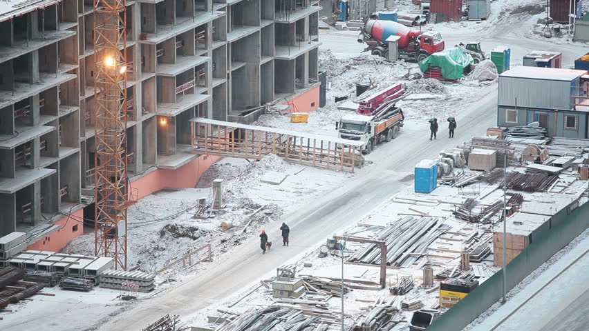 how to work safely on a construction site in winter designing