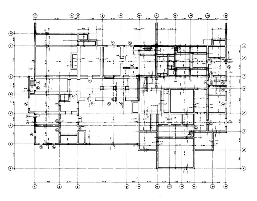 Working drawing designing buildings wiki for Construction plan drawing