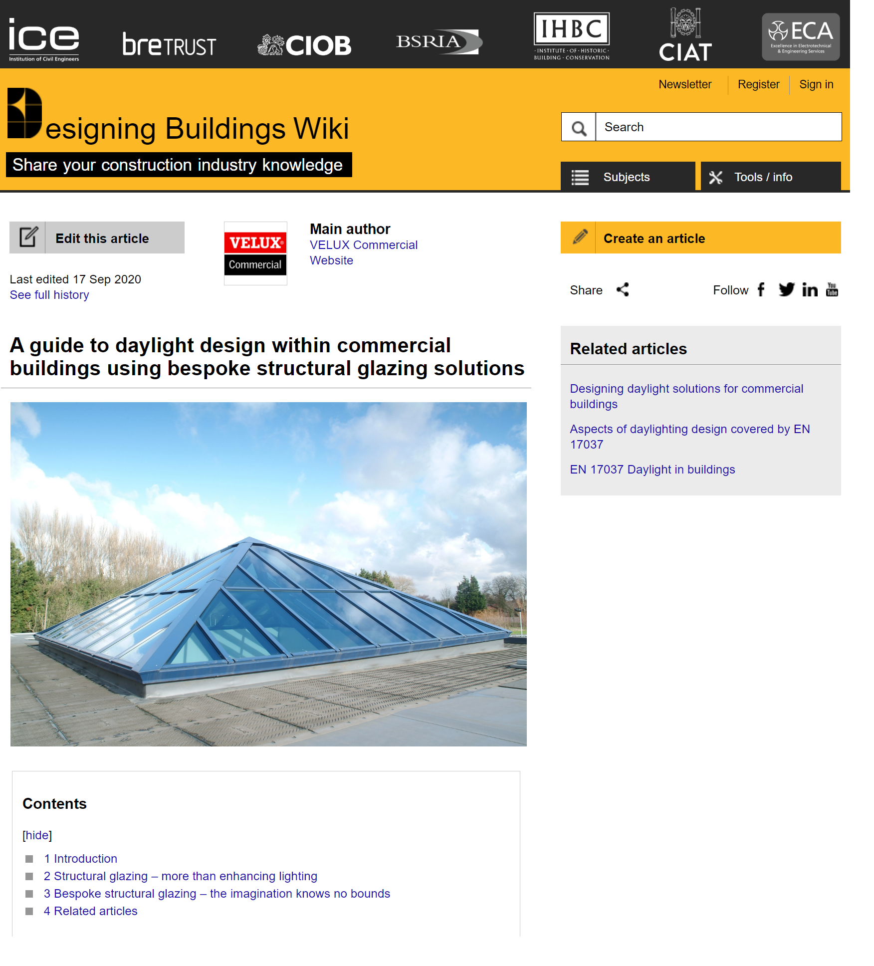 Funnel Velux structural glazing article.png