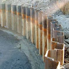 Sheet piles designing buildings wiki for Wood piling foundation cost