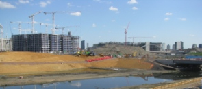 File:Wetland Bowl on the Olympic Park during construction 296.jpg