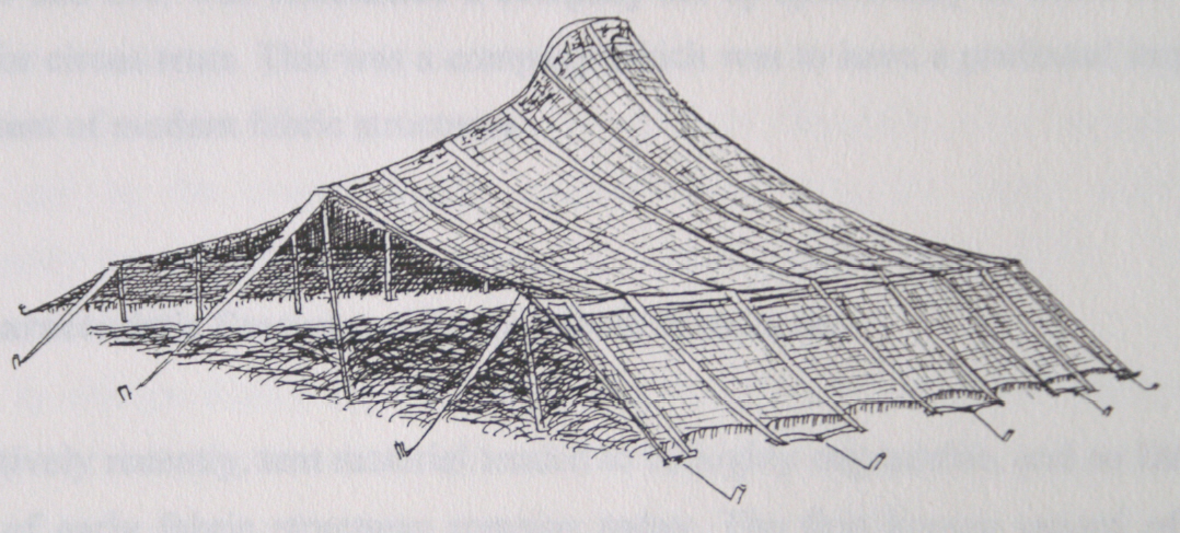 The History Of Fabric Structures Designing Buildings Wiki