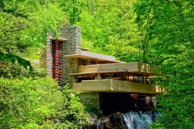 3 likewise The Biophilia Of Biomimicry further See The Lego Architecture Exhibit At The Henry Ford Museum further Fallingwater also The Fallingwater House By Frank Lloyd Wright Remains Eternal Classics 1438. on frank lloyd wright falling water design