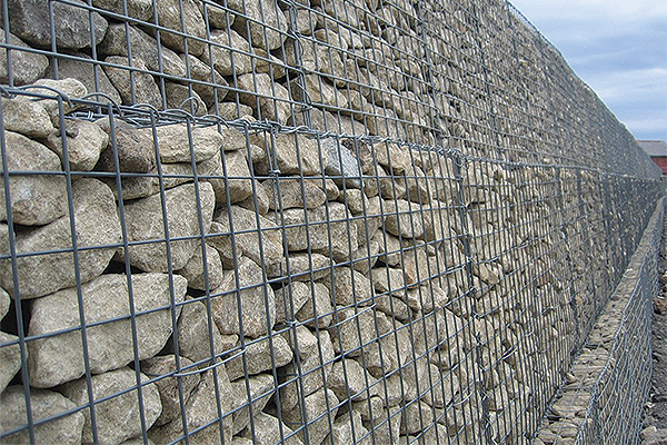 Gabion river stream and coastal erosion control uk.