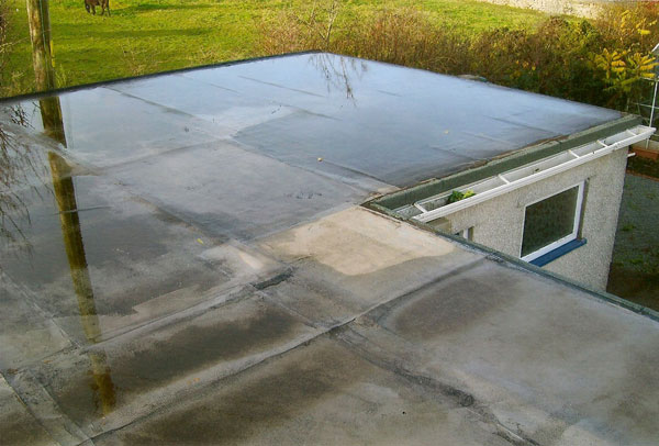 Flat Roof Defects Designing Buildings Wiki