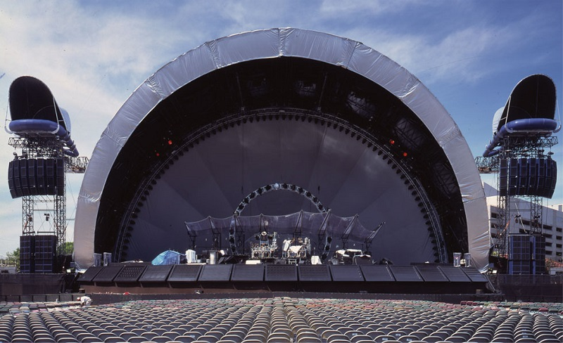 Architecture of concert stage designs - Designing Buildings Wiki