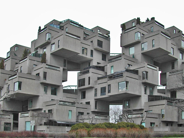 Habitat 67 designing buildings wiki for Construction habitat