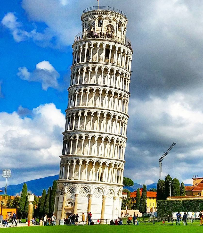 Why the leaning tower of Pisa is inclined towards the height of the leaning of the tower of pisa 15