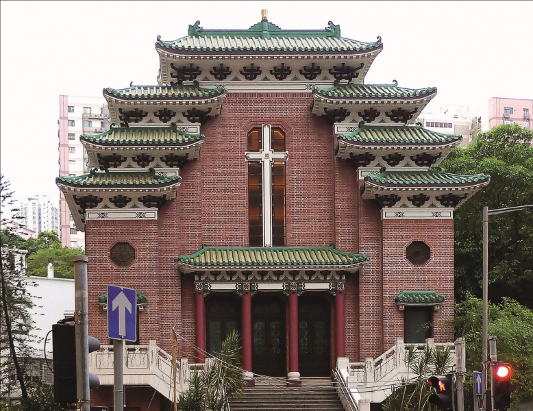 File:St Marys Church in Hong Kong.jpg