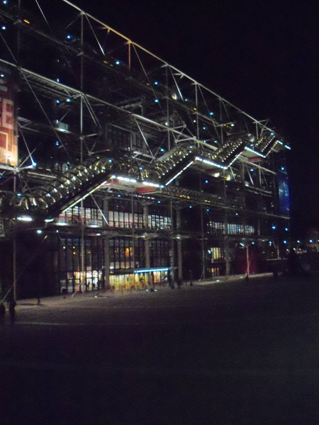 File:Pompidou Centre at Night.JPG