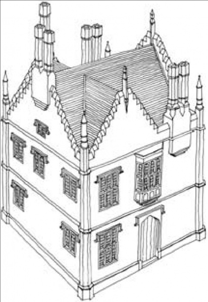 File:Reconstruction of Bromley Hall .jpg