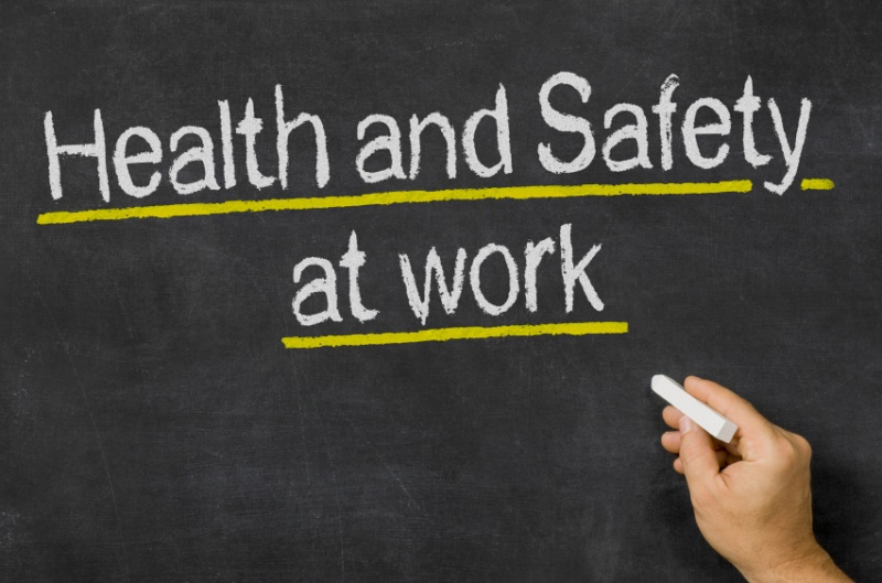 File:Blackboard with the text Health and Safety at work iStock 000066894829 Small.jpg