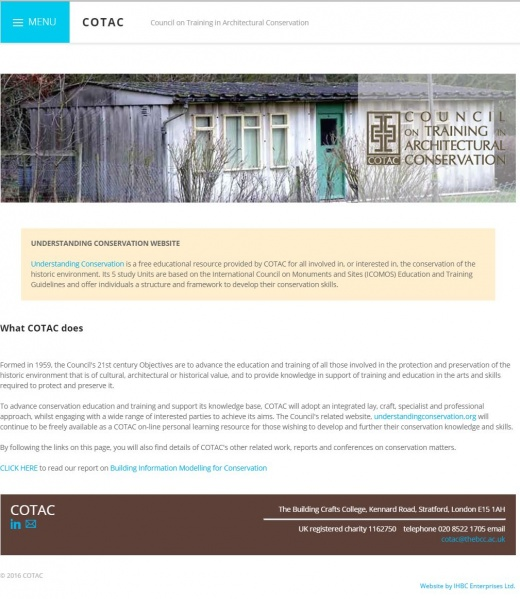 File:COTAC website.JPG